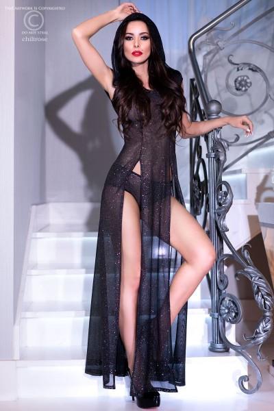Langes Kleid CR4259