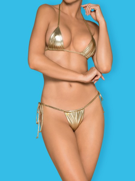 Micro-Bikini Bella Vista gold