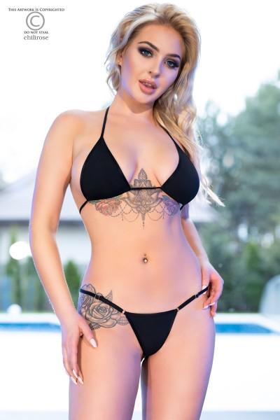Mini-Bikini CR4381 schwarz